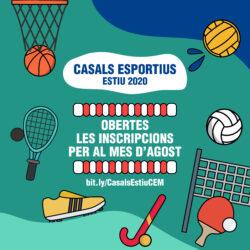 Casals esportius Agost 2020