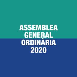 Assemblea General Ordinària 2020