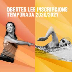 Inscripcions obertes Temporada 2020-2021