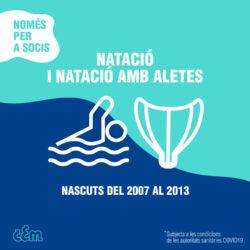 Casal esportiu de Natació i Natació amb aletes
