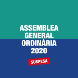 Assemblea General Ordinària suspesa