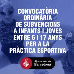 Ajudes a la pràctica esportiva 2020-2021