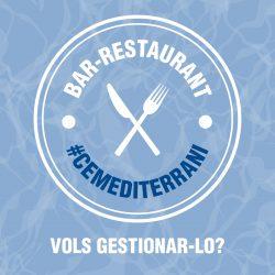 Vols gestionar el Bar-Restaurant del Club?