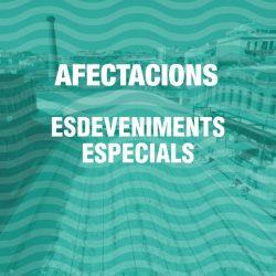 Esdeveniments i afectacions a les instal·lacions