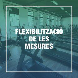 Flexibilització de les mesures
