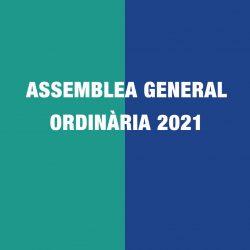 Assemblea General Ordinària 2021