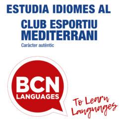 Estudia idiomes al Club amb BCN Languages