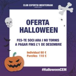 Oferta Halloween – Inscripció